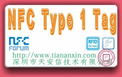 NFC Forum Type 1 Tag白卡 nfc t1t